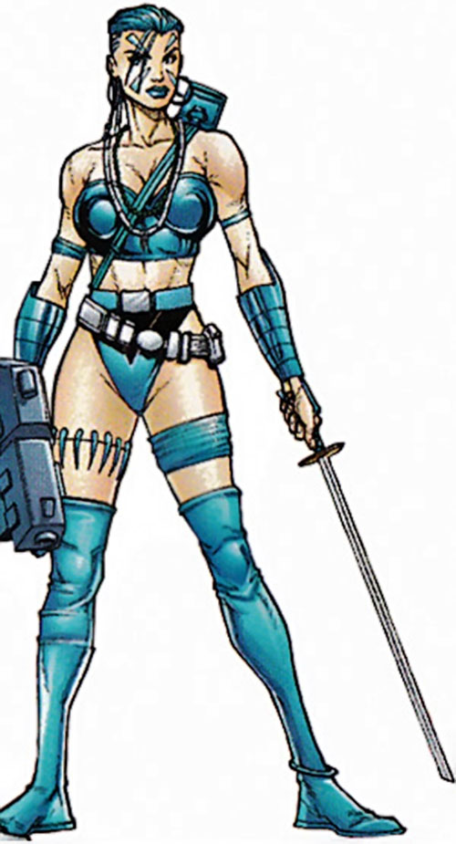 Xantia of the Super-Soldiers (Marvel Comics UK)