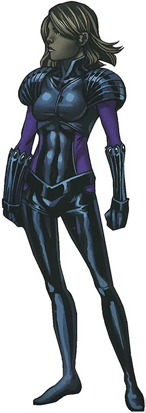 Xavin of the Runaways (Marvel Comics) as a girl