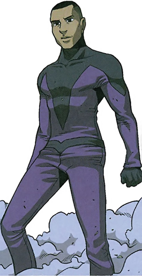 Xavin of the Runaways (Marvel Comics) as a human male