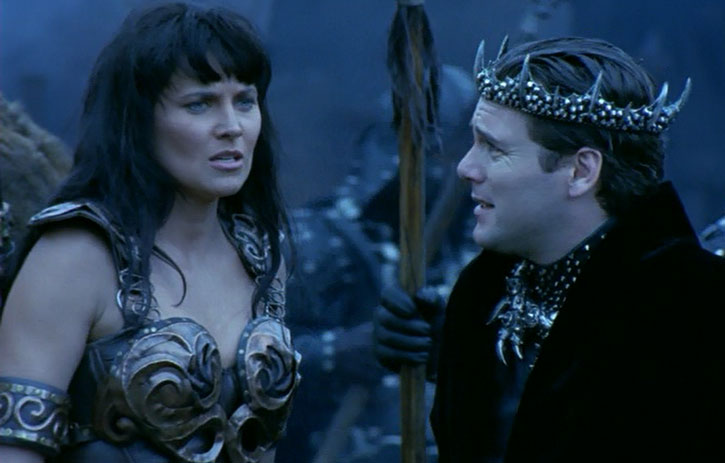 Xena (Lucy Lawless) in Hades