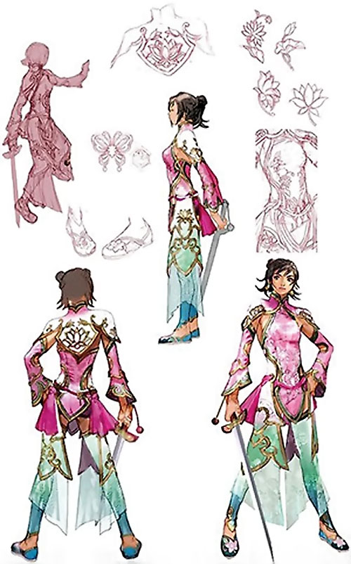 Xianghua Chai (Soul Calibur) concept art
