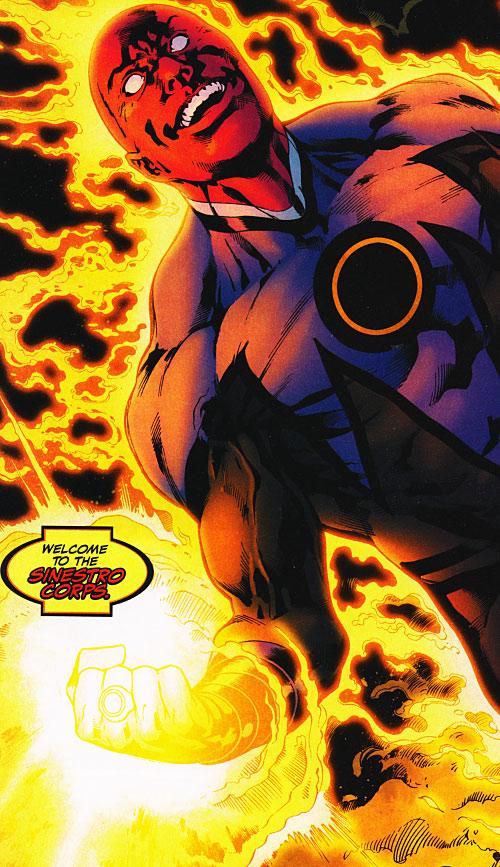 Yellow Power Ring (Green Lantern DC Comics) - Amon join the Yellow Lantern Corps