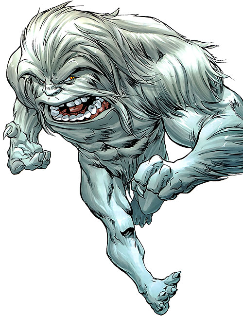 Yeti (Guardians of the Globe) (Image Comics) (Invincible universe)