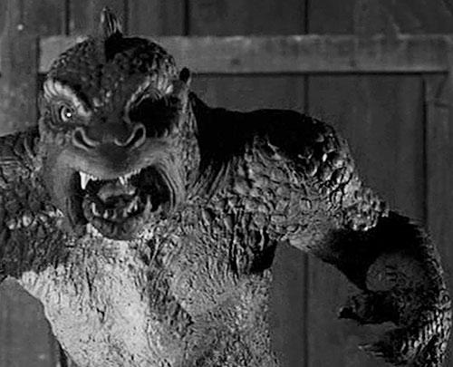 Ymir (20 million miles to Earth Harryhausen monster) closeup