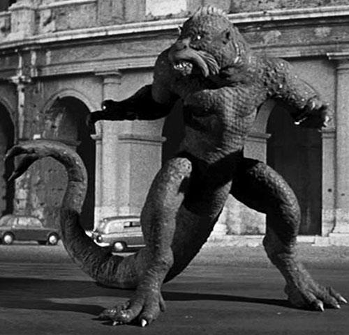 Ymir (20 million miles to Earth Harryhausen monster) in Italy