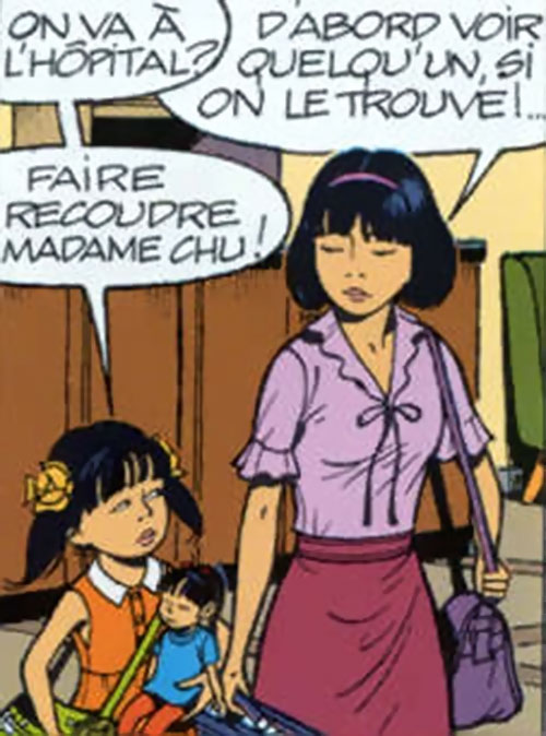 Yoko Tsuno with Morning Dew