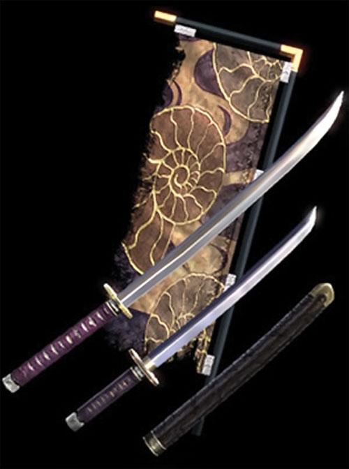 Yoshimitsu (Soul Calibur) daisho swords