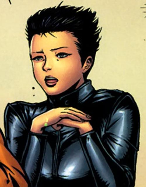 Yukio (Marvel Comics) (Wolverine ally) chatting