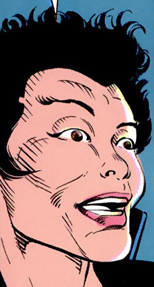 Yukio (Marvel Comics) (Wolverine ally) is excited