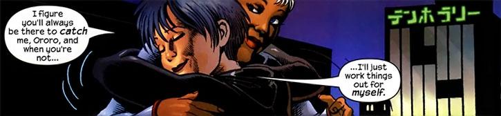Yukio hugging Storm