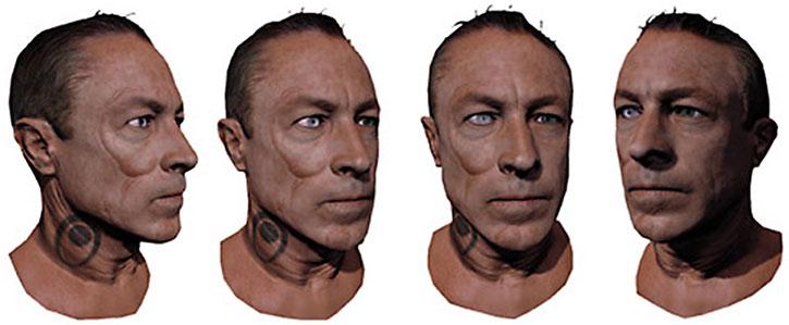 Zaeed Massani head model rotation