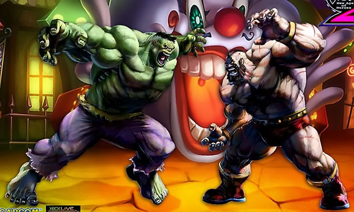 Zangief vs. the Hulk