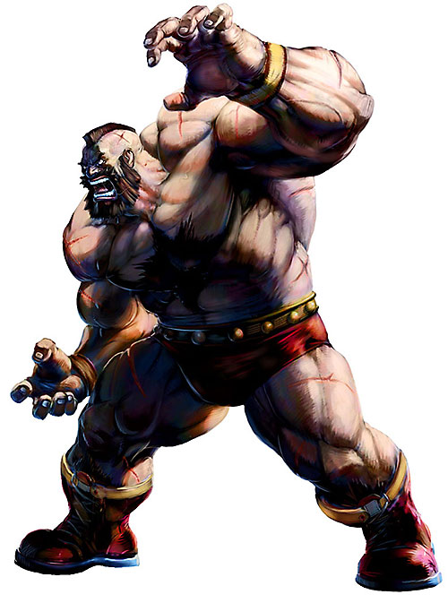 Zangief from Street Fighters