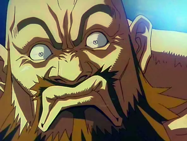 Zangief cartoon face