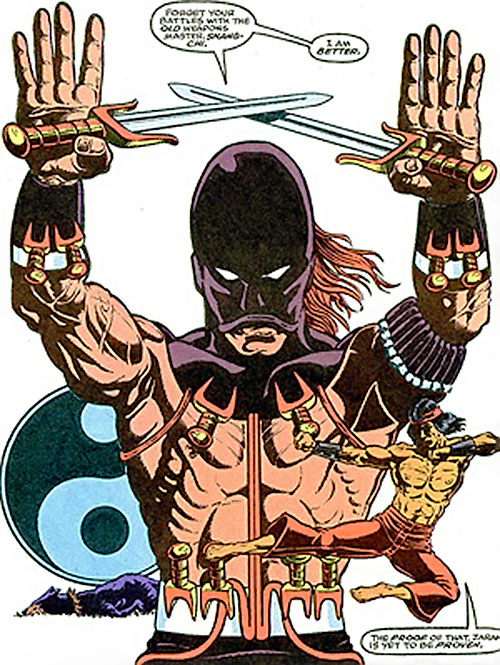 Zaran (Zhou Man She) (Marvel Comics) Master of Kung Fu art