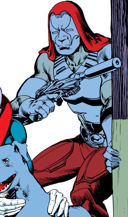 Zartan (G.I. Joe enemy) (Marvel Comics) gray camouflage
