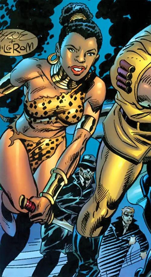 Zawadi (Marvel Comics Lost Generation) running by Byrne and Milgrom