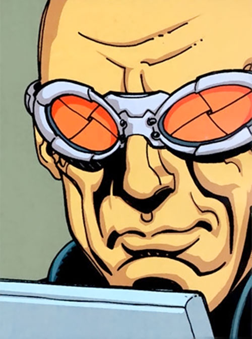 Zeiss (Batman enemy) (DC Comics) smirking