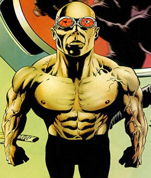Zeiss (Batman enemy) (DC Comics) bare-chested