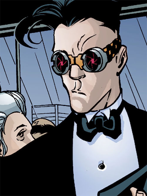 Zeiss (Batman enemy) (DC Comics) in a tux