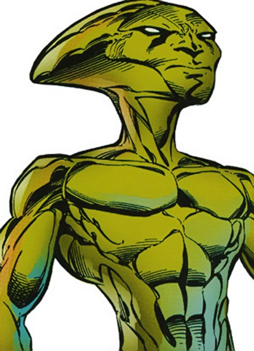 Zelus (Sovereign 7 enemy) (DC Comics)