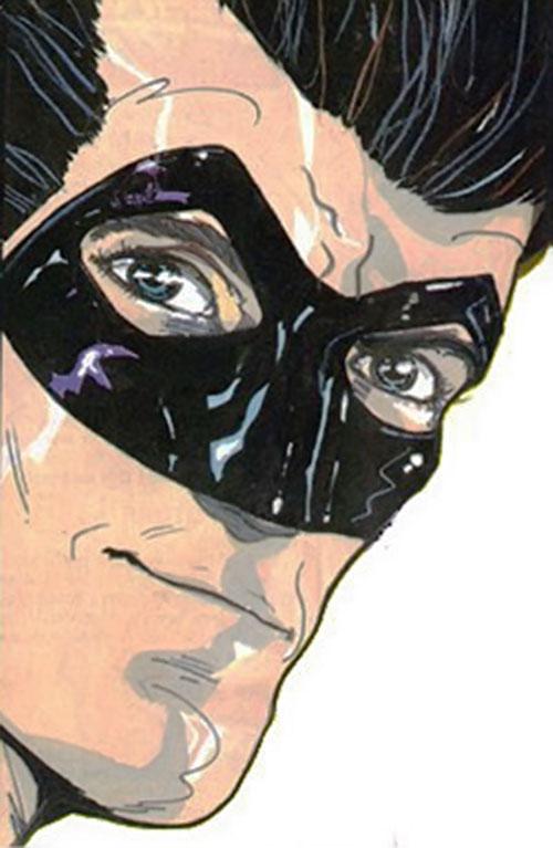 Zenith (Grant Morrison / 2000 AD) face closeup
