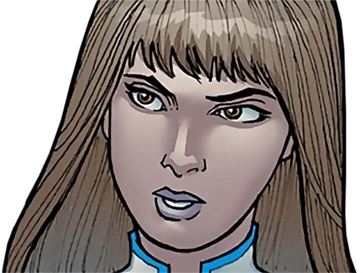 Zenith (Halcyon (Image comics) face closeup