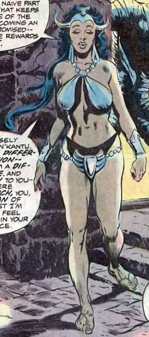 Zephyr of the Elementals (Living Mummy character) (Marvel Comics)
