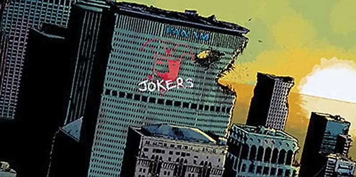 The post-apocalyptic Manhattan of Zero Killer