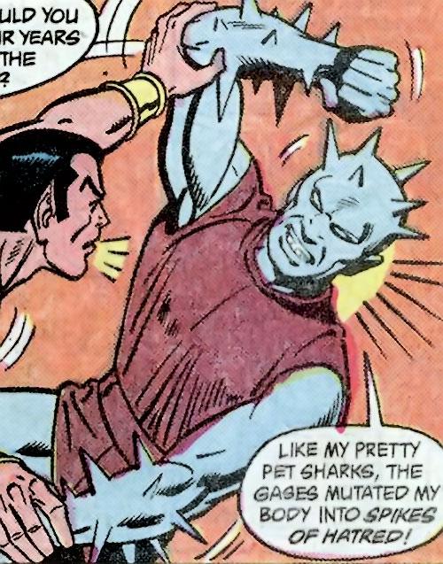 Zoga vs. Namor (Marvel Comics)
