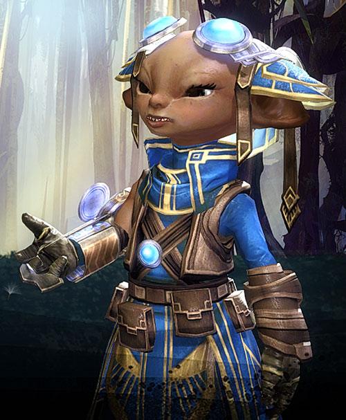 Zojja (Guild Wars 2) talking