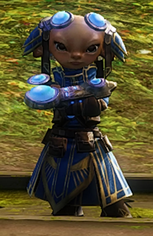 Zojja (Guild Wars 2) with arms crossed