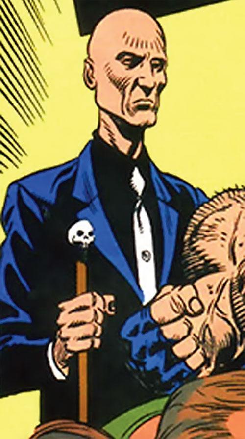 Zombie (Bane / Batman character) (DC Comics) with his cane