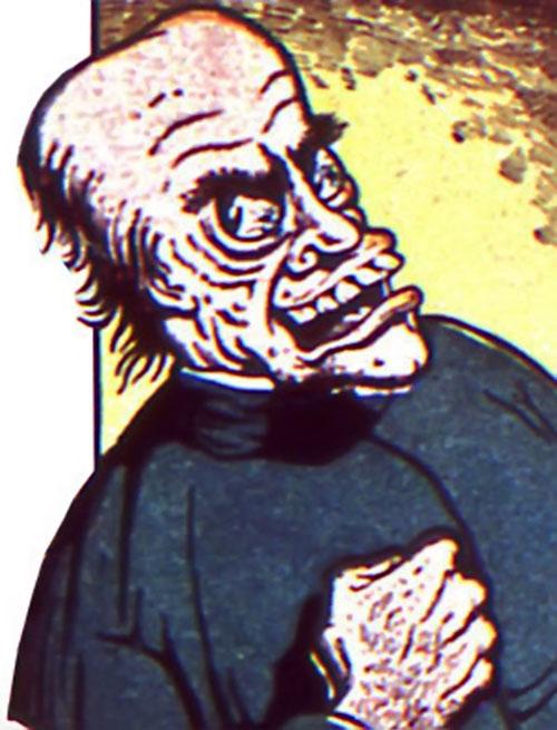 Zombo the Hypnotist (Timely comics)