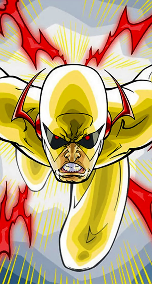 Zoom (Flash enemy) (DC Comics) running in