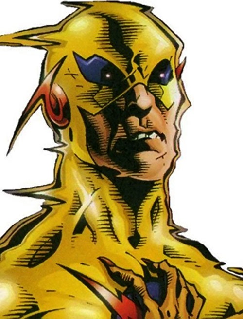 Zoom (Flash enemy) (DC Comics) vibrating head