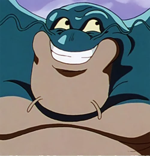 Zoonama (Dragon Ball) is happy