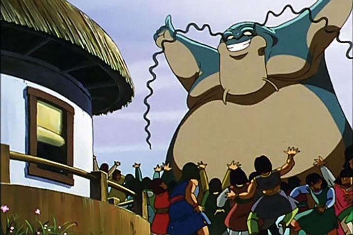Zoonama terrorising a village