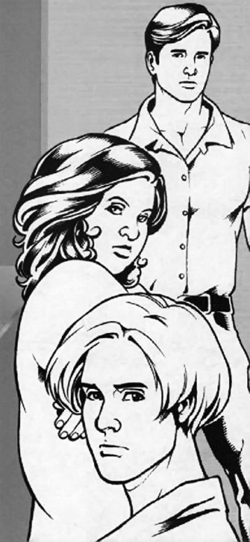 Dudong, Didi and Ada in the Zsa Zsa Zaturnnah comic