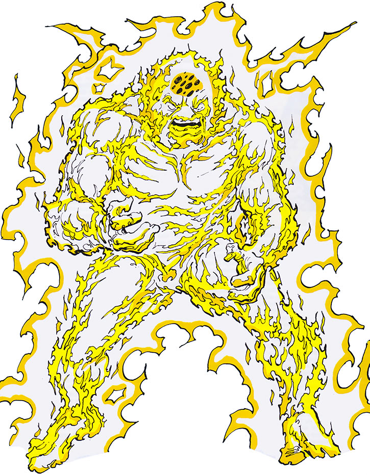 Zzax (Marvel Comics) electricity monster from the 1985 official handbook