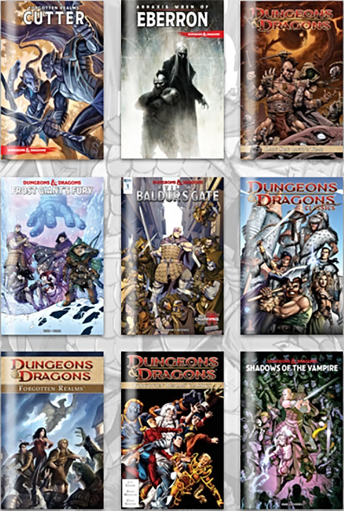 D&D Humble Bundle comics 2018