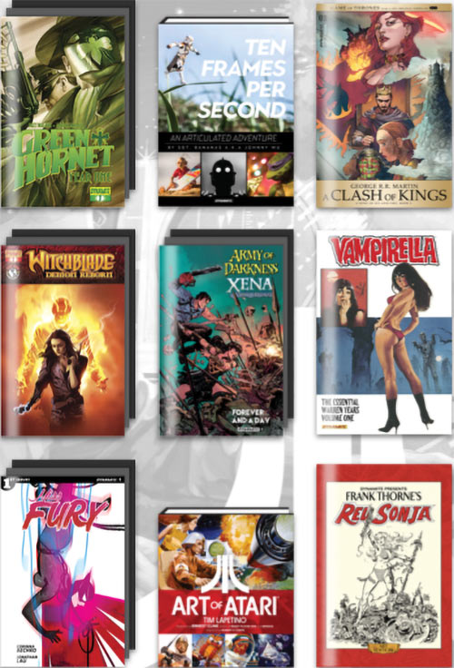 Dynamite Comics 25th Humble Bundle
