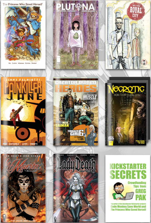 Indie heroes Humble Bundle comics 2018